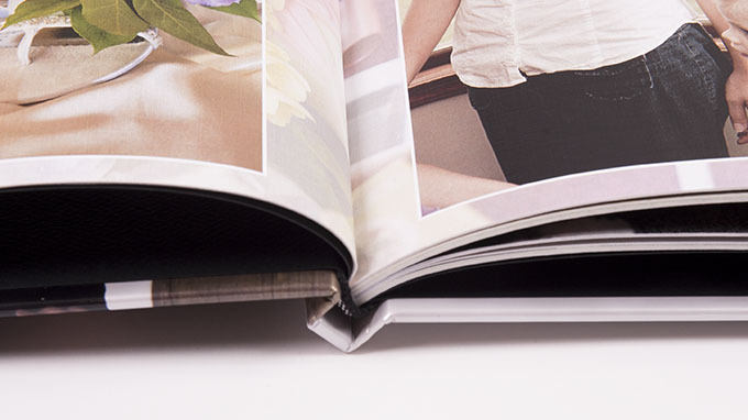 Slip in album: binding